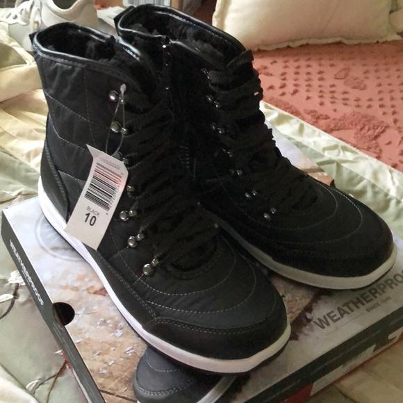 Weatherproof Black Costco Boots